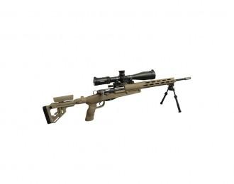 WYSSEN DEFENCE Sniper Chassissystem Set, FDE