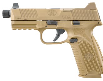 Pistole, FN, 509 Tactical , Kaliber 9x19mm, FDE