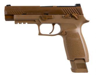 Pistole, SIG, M17, Kaliber 9x19mm, FDE (Surplus)