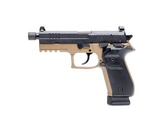 Pistole Arex REX zero 1 T (Tactical), Kaliber 9x19mm, flat dark earth