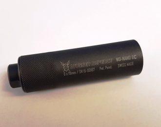 Schalldämpfer WYSSEN DEFENCE WD-NANO 9C Kal 9x19mm M13.5x1LH